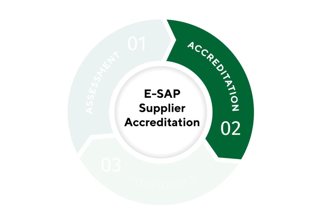 E SAP Supplier accreditation infographic Accreditation 01