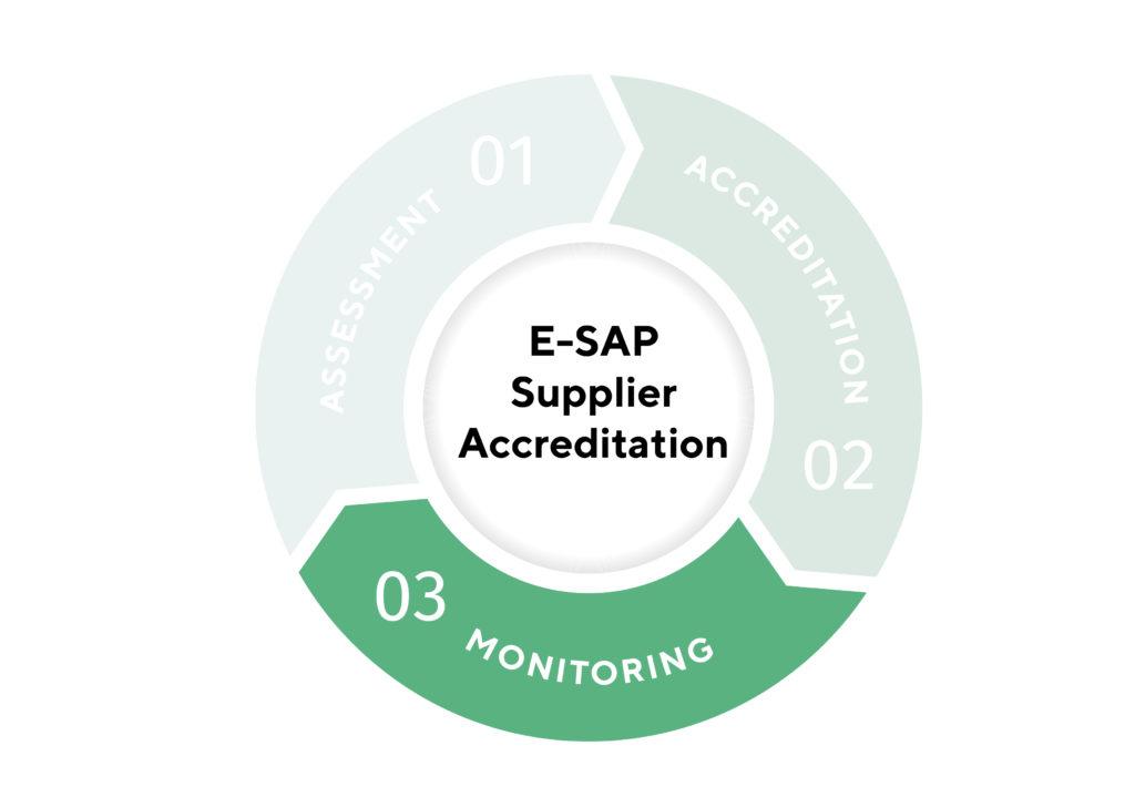 E SAP Supplier accreditation infographic Monitoring 01