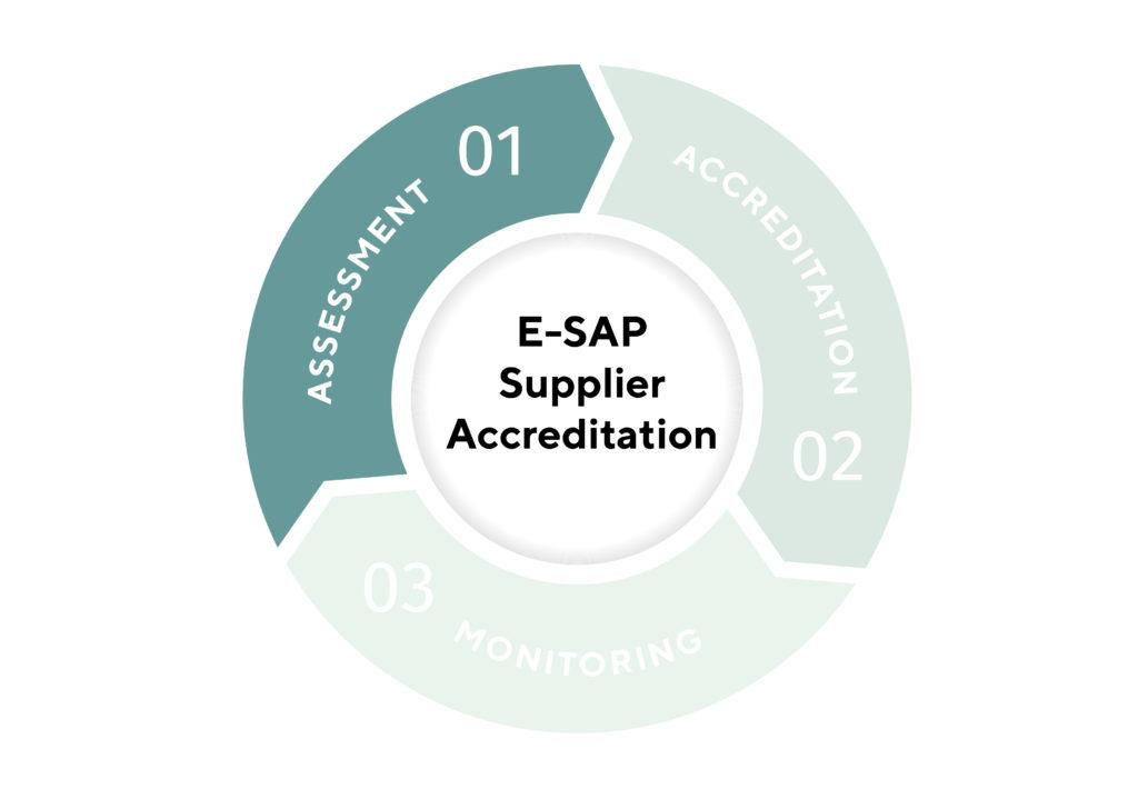E SAP Supplier accreditation infographic assessment 01