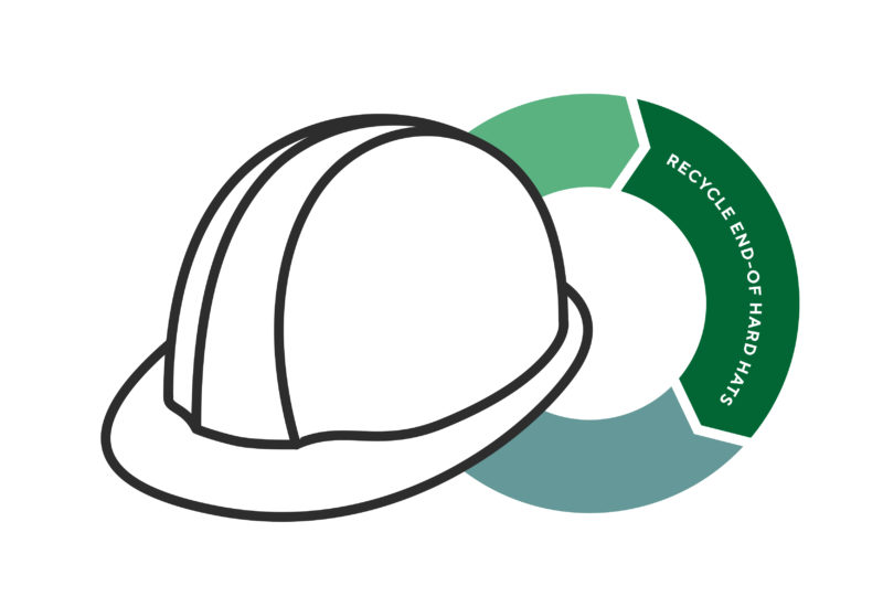 HARD HAT RECYCLING colour 01