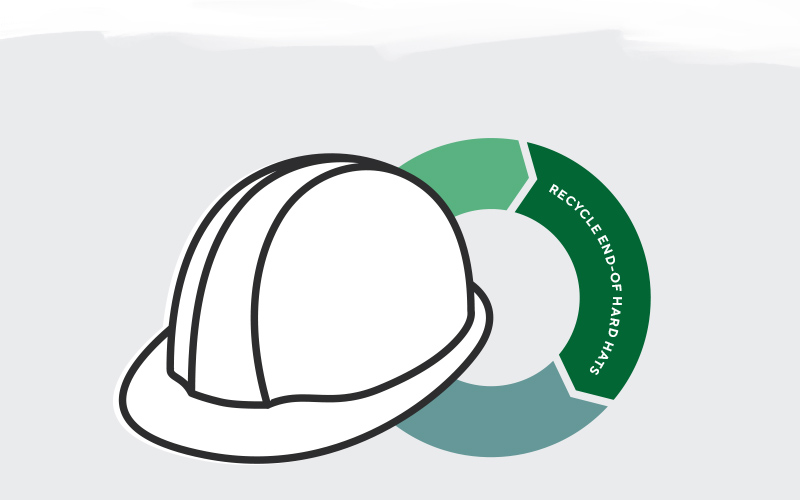 HARD HAT RECYCLING paint 3