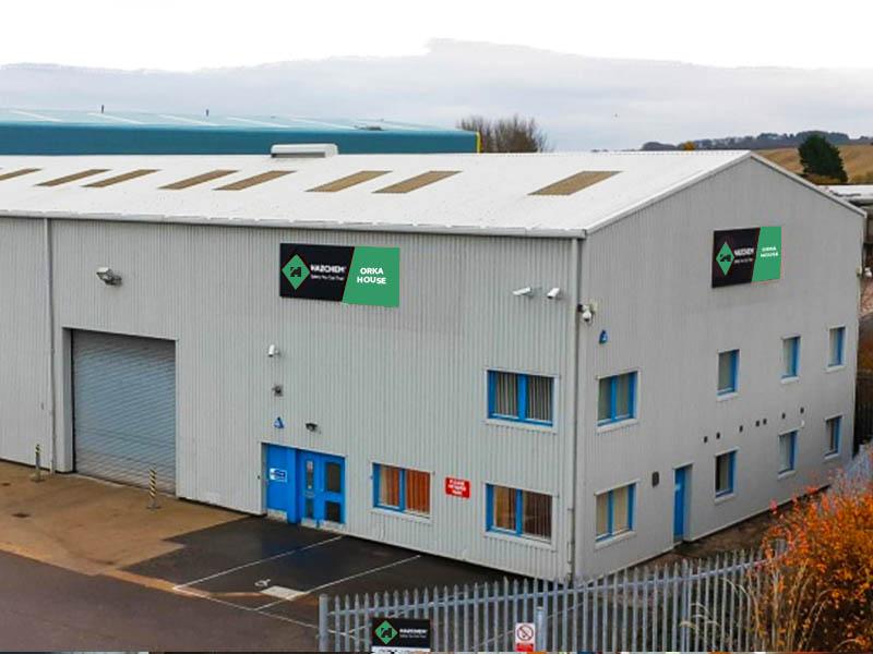 HAZCHEM Dyce Warehouse Aberdeen GREEN