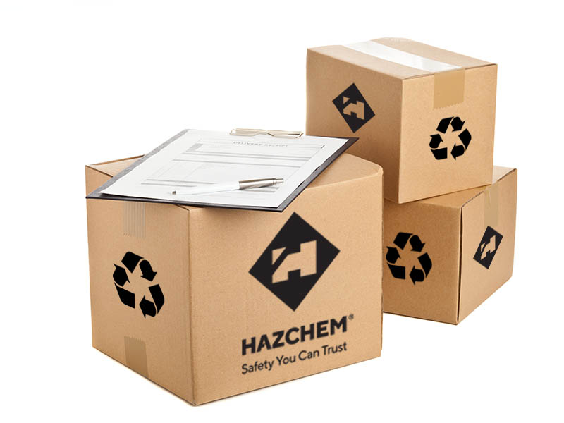 HAZCHEM Recycled Packaging